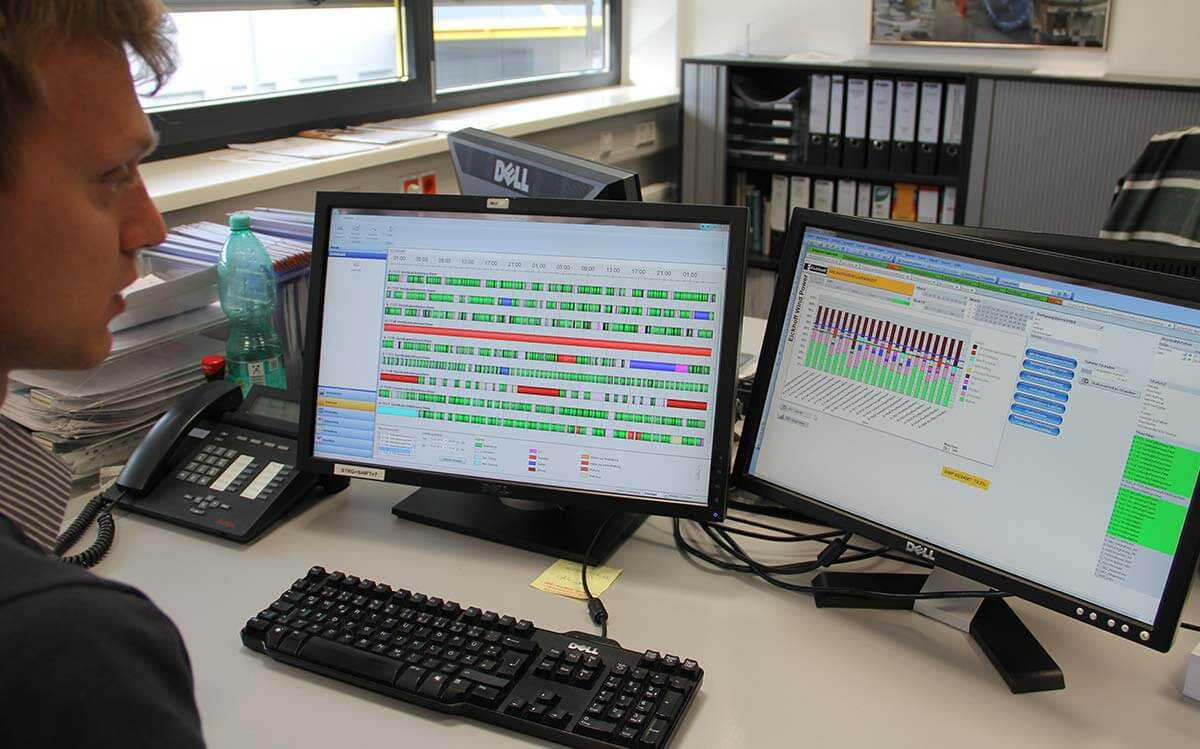 PROXIA Product Control room/Detailed planning example 5