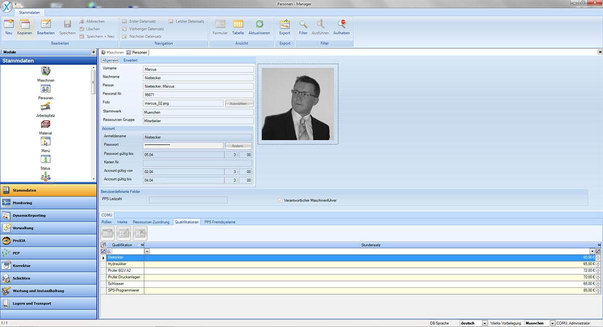 PROXIA Product manager software impression 2