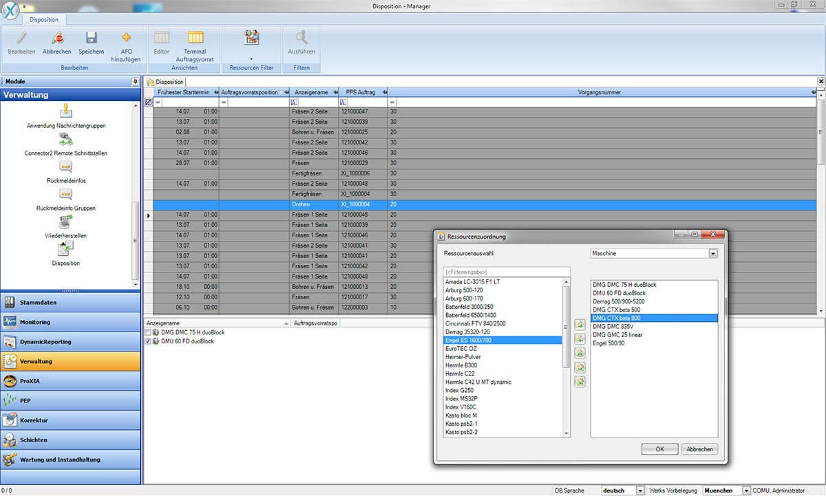PROXIA Product manager software impression 7