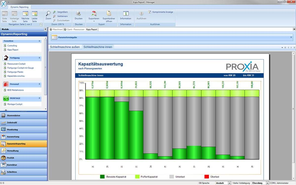 PROXIA Product manager software impression 8