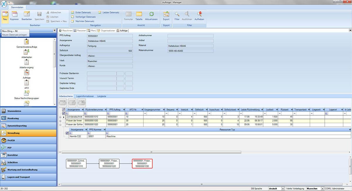 PROXIA Product manager software impression 9