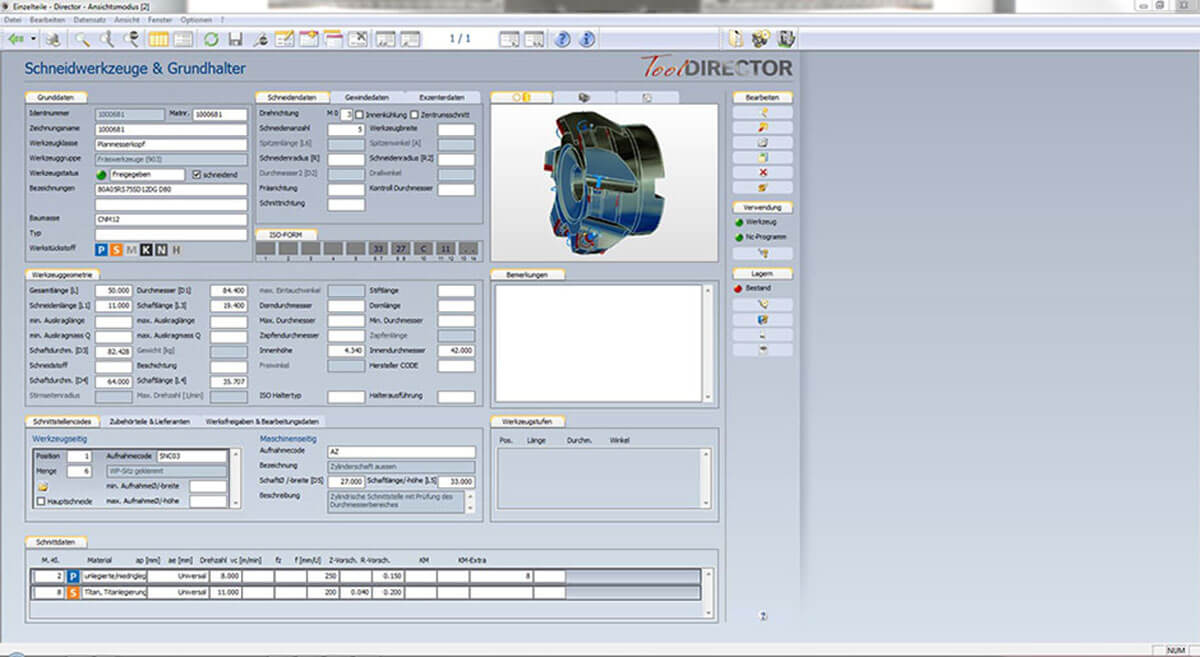 PROXIA Product Tool-Data management software impression 2