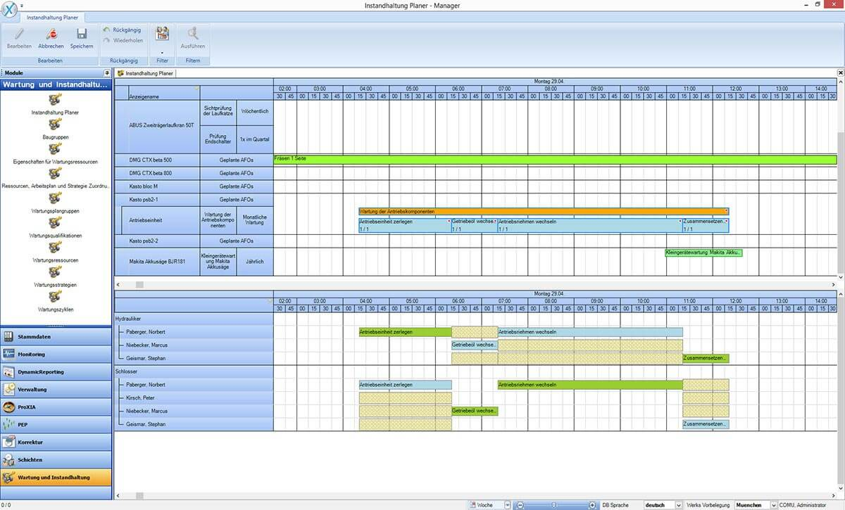 PROXIA Produkt TPM.web Software-Impression 3