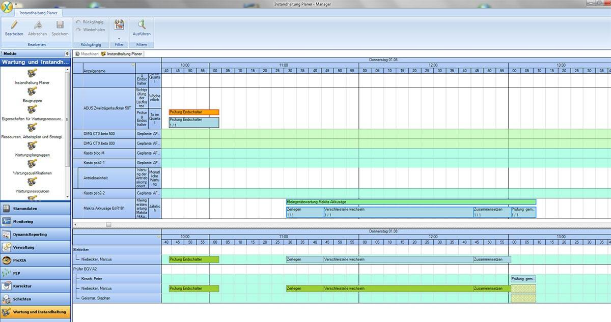 PROXIA Produkt TPM.web Software-Impression 6