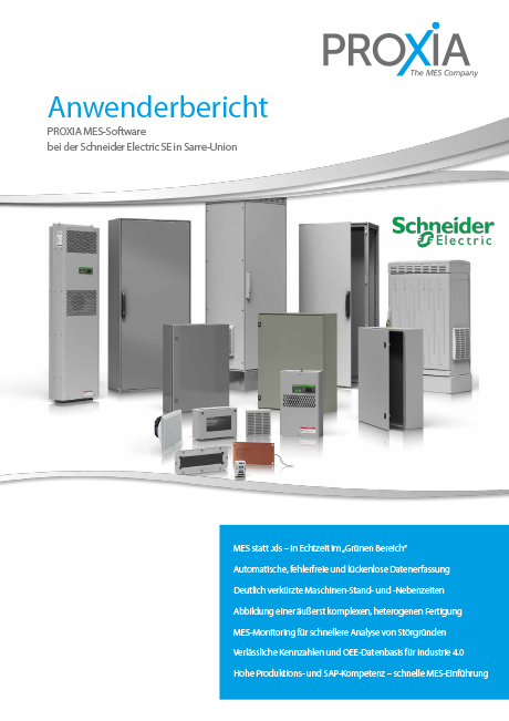 PROXIA Case study Schneider Electric