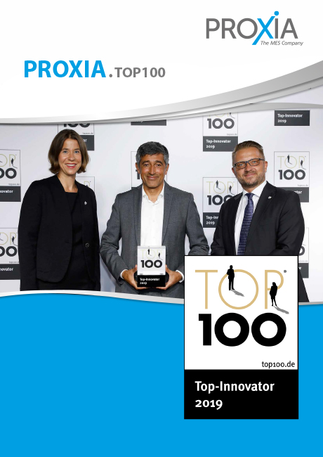 PROXIA Buchportrait TOP100 Innovationspreis