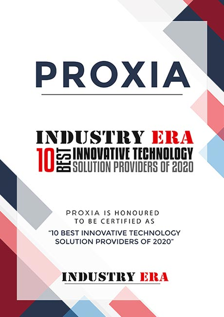 PROXIA 10 Best Innovative Technology Solution Provider of 2020