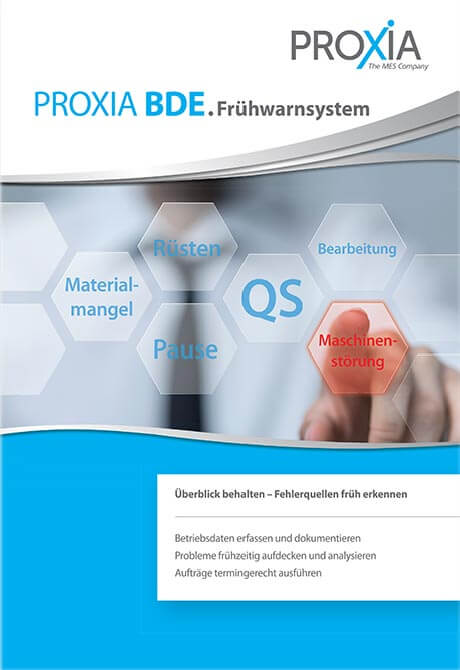 PROXIA Flyer BDE Early warning system