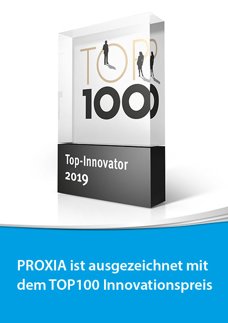 PROXIA TOP100 Innovationspreis