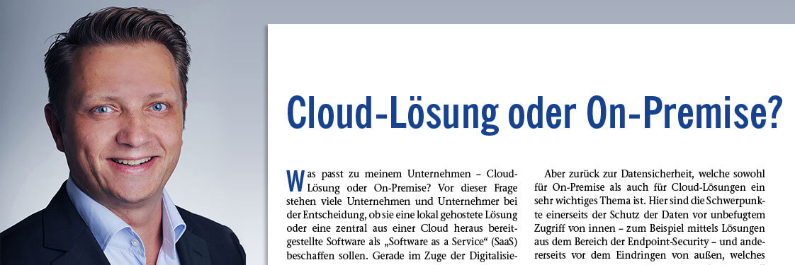 Torsten Wenzel: Views regarding the cloud in VDI-Z