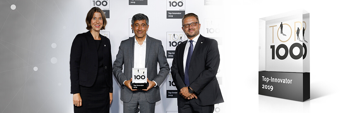 PROXIA scoops the TOP 100 award for innovation