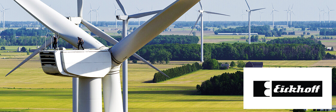 Case study from Eickhoff Wind Power GmbH